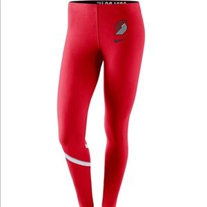 Nike NBA Portland Trailblazer leggings M justdoit